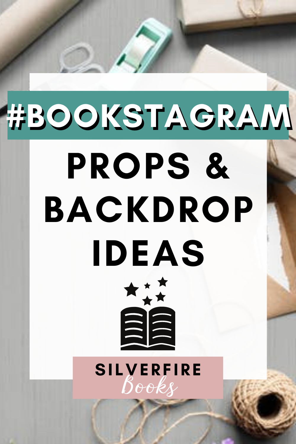 Bookstagram props and background ideas for book photos