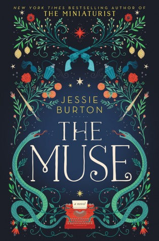 The Muse by Jessie Burton book cover
