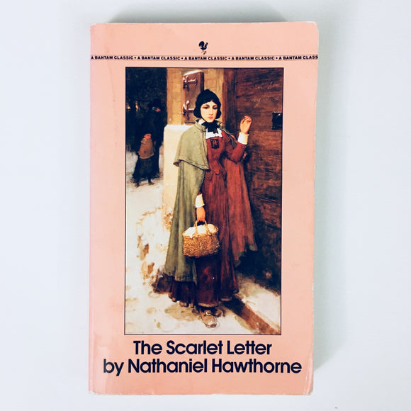 Paperback book: The Scarlet Letter by Nathaniel Hawthorne