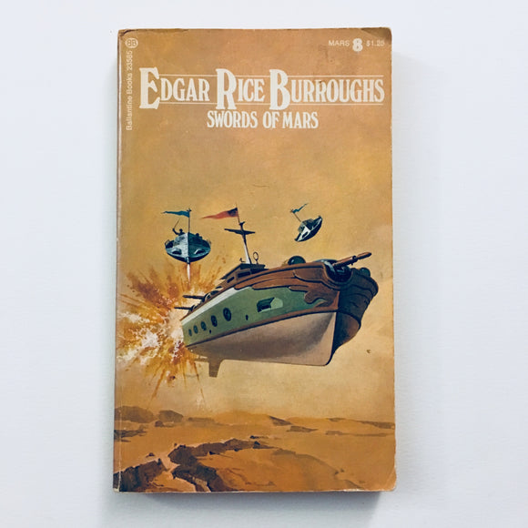 Paperback book: Swords of Mars by Edgar Rice Burroughs