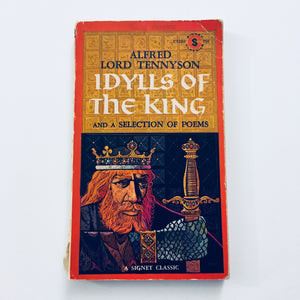 Paperback book: Idylls of the King by Alfred Lord Tennyson
