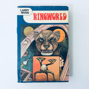 Hardcover book: Ringworld by Larry Niven