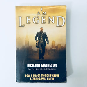 Paperback book: I Am Legend by Richard Matheson