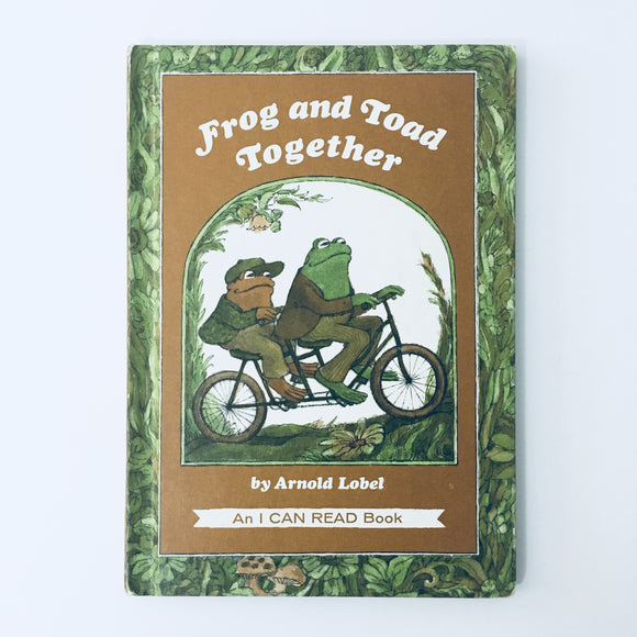 Hardcover book: Frog and Toad Together by Arnold Lobel