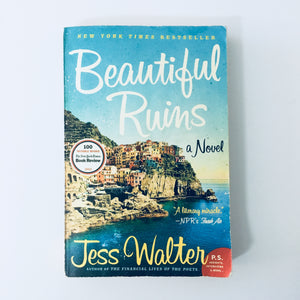 Paperback book: Beautiful Ruins by Jess Walter