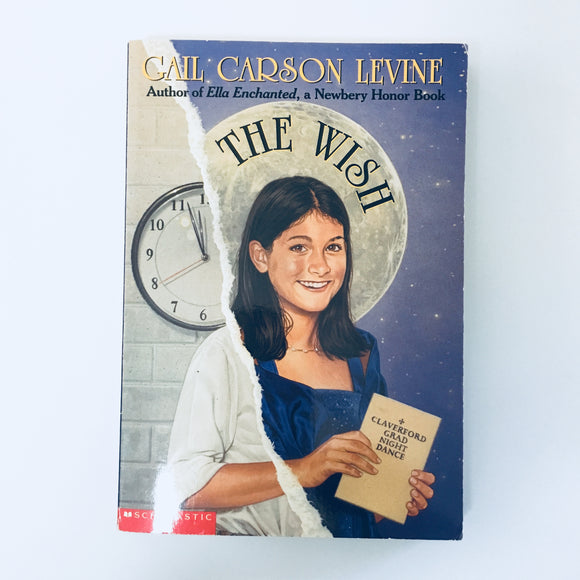Paperback book: The Wish by Gail Carson Levine