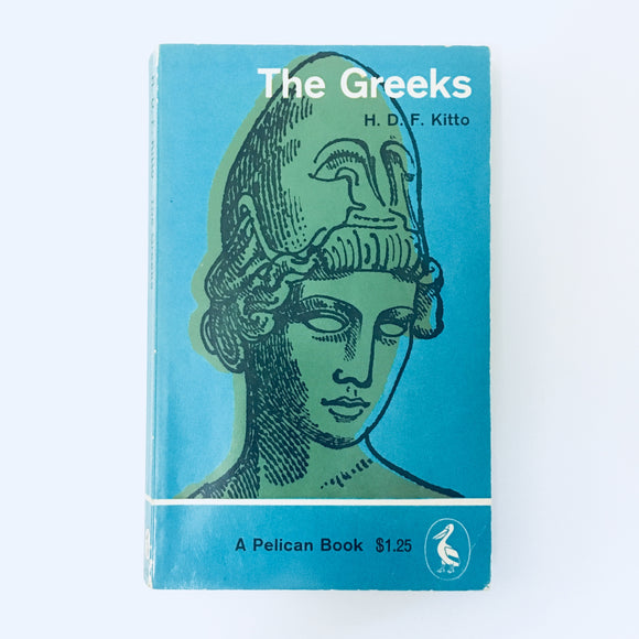 Paperback book: The Greeks by H.D.F Kitto