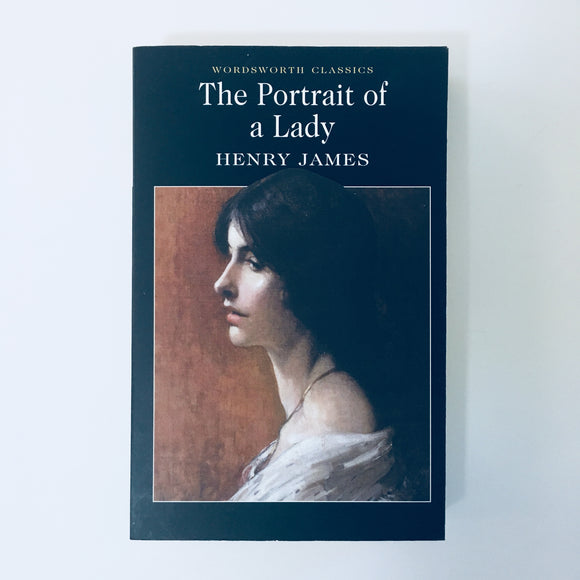 Paperback book: The Portrait of a Lady by Henry James