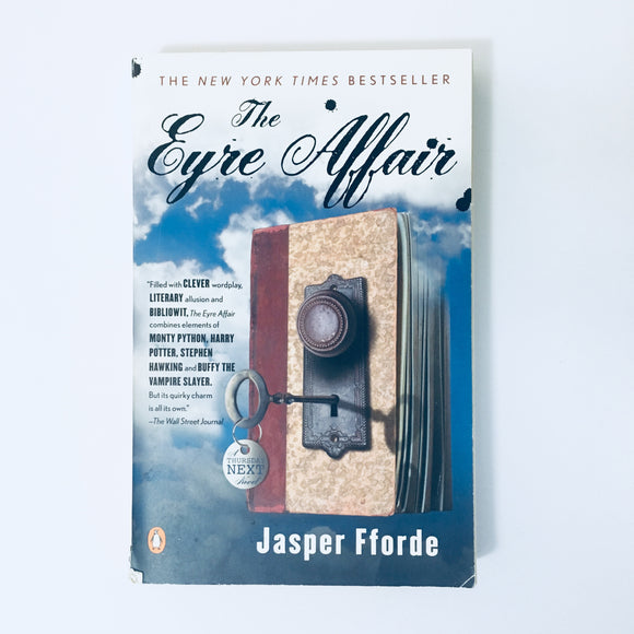 Paperback book: The Eyre Affair by Jasper Fforde