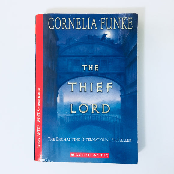 Paperback book: The Thief Lord by Cornelia Funke