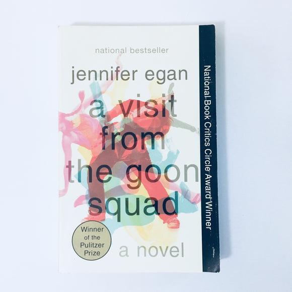 Paperback book: A Visit From the Goon Squad by Jennifer Egan