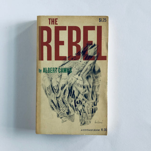 Paperback book: The Rebel by Albert Camus