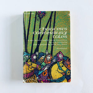 Paperback book: The Canterbury Tales by Geoffrey Chaucer