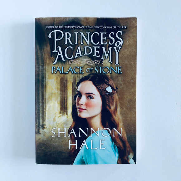 Paperback book: Princess Academy: Palace of Stone by Shannon Hale