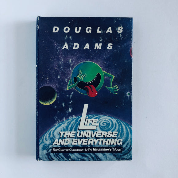 Hardcover book: Life, the Universe, and Everything by Douglas Adams