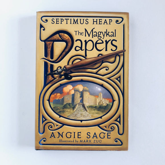 Hardcover book: Septimus Heap: The Magykal Papers by Angie Sage