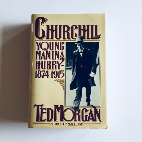 Hardcover book: Churchill by Ted Morgan