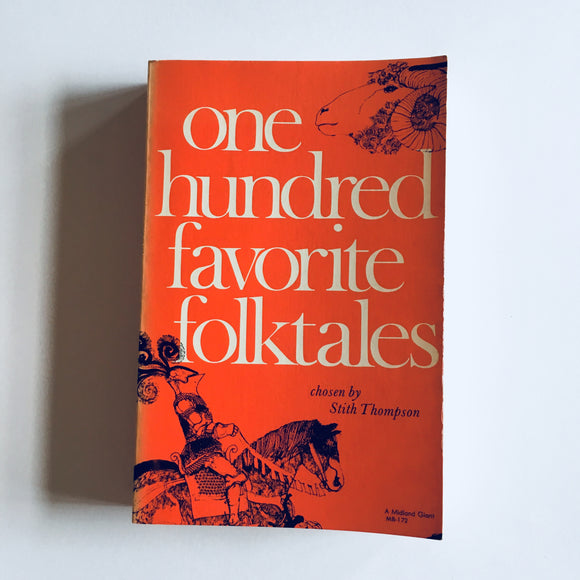 Paperback book: One Hundred Favorite Folk Tales