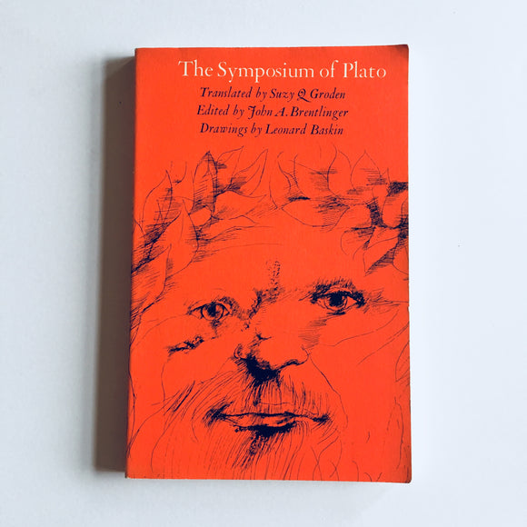 Paperback book: The Symposium of Plato