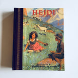 Hardcover book: Heidi by Johanna Spyri