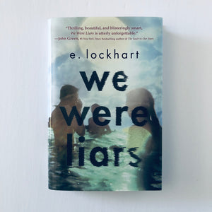 Hardcover book: We Were Liars by E. Lockhart