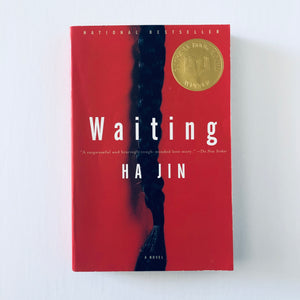 Paperback book: Waiting by Ha Jin