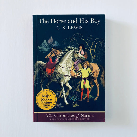 Paperback book: The Horse and His Boy by C.S. Lewis