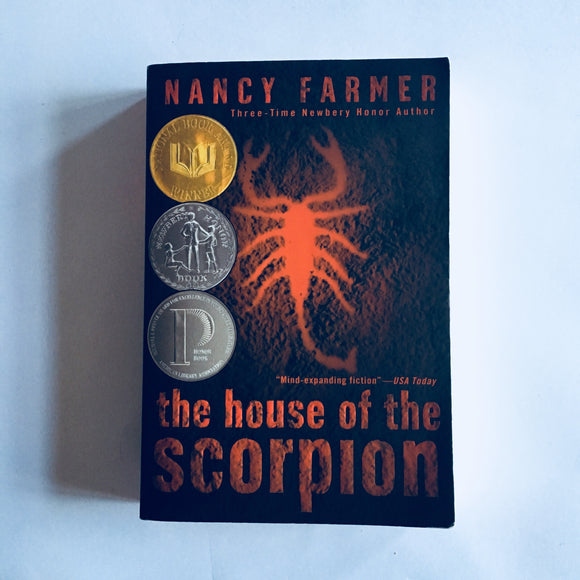 Paperback book: The House of the Scorpion by Nancy Farmer