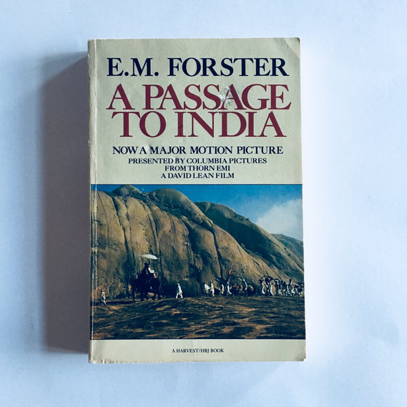 Paperback book: A Passage to India by E.M. Forster