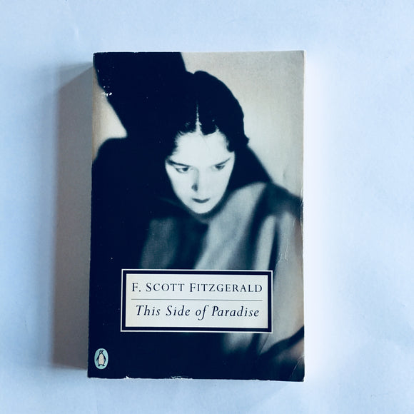 Paperback book: This Side of Paradise by F. Scott Fitzgerald