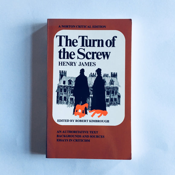 Paperback book: The Turn of the Screw by Henry James
