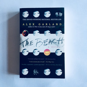 Paperback book: The Beach by Alex Garland