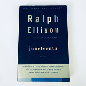 Paperback book: Juneteenth by Ralph Ellison