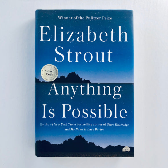 Hardcover book: Anything is Possible by Elizabeth Strout
