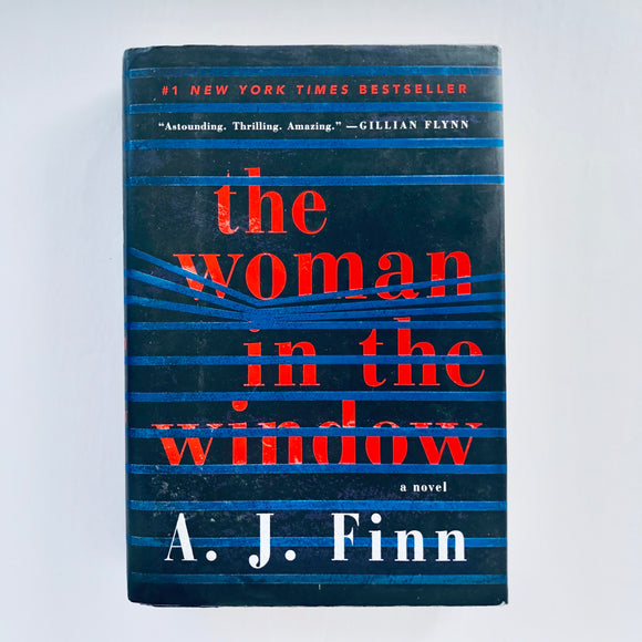 Hardcover book: The Woman in the WIndow by A.J. Finn