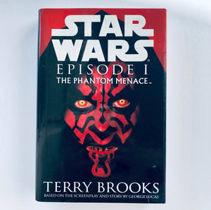 Hardcover book: Star Wars Episode 1: The Phantom Menace by Terry Brooks