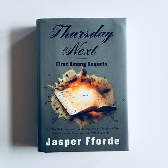 Hardcover book: Thursday Next by Jasper Fforde