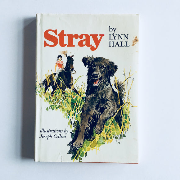 Hardcover book: Stray by Lynn Hall