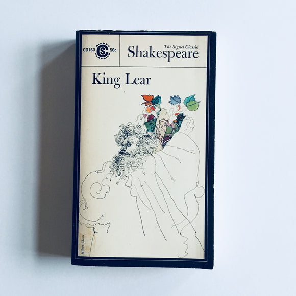 Paperback book: King Lear by William Shakespeare