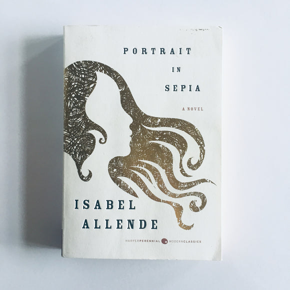 Paperback book: Portrait in Sepia by Isabel Allende