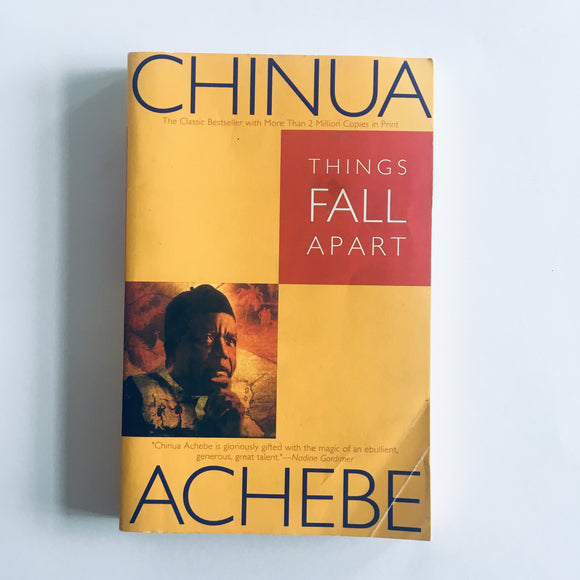 Paperback book: Things Fall Apart by Chinua Achebe