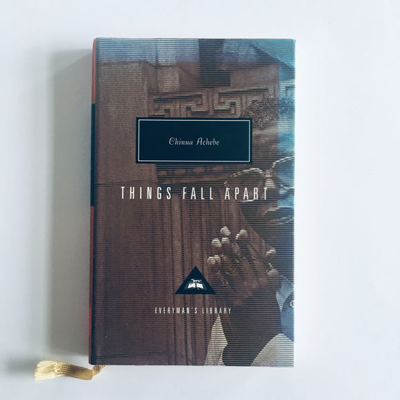 Hardcover book: Things Fall Apart by Chinua Achebe
