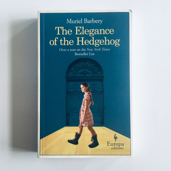 Paperback book: The Elegance of the Hedgehog by Muriel Barbury