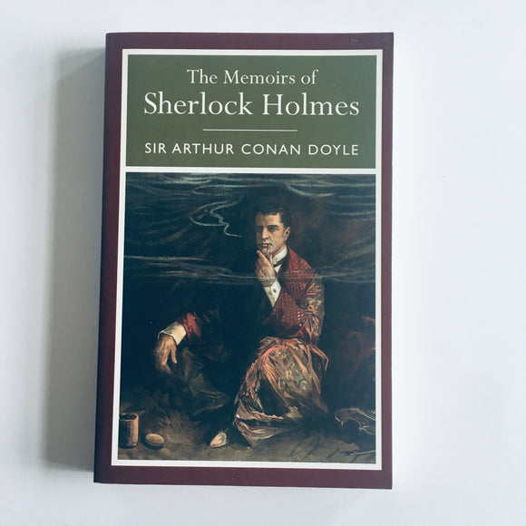 Paperback book: The Memoirs of Sherlock Holmes by Sir Arthur Conan Doyle