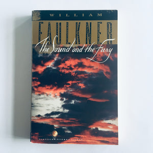 Paperback book: The Sound & the Fury by William Faulkner
