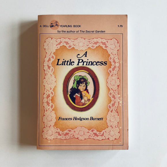 Paperback book: A Little Princess by Frances Hodgson Burnett