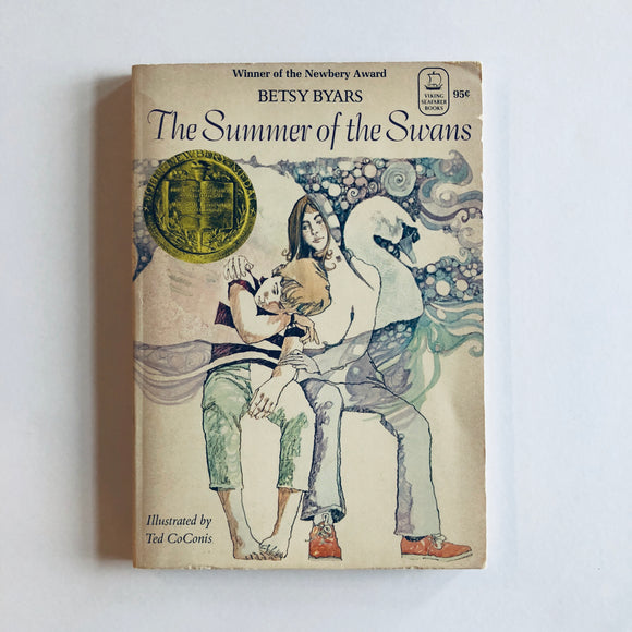 Paperback book: The Summer of the Swans by Betsy Byars