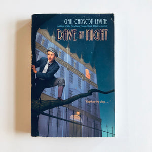 Paperback book: Dave at Night by Gail Carson Levine