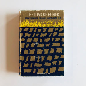 Hardcover book: The Iliad of Homer