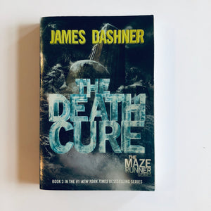 Paperback book: The Death Cure by James Dashner
